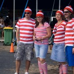 Where's Wally? There ... there ... there ... and there.