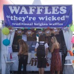 Waffles. They're wicked.