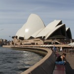 Exploring around the Opera House (and Opera bar)