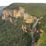 Waterfall at Govett's Leap