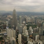 View across KL
