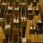 Wine bottles at Prime