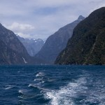 Mountains at Milford Sound