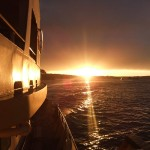Sunrise from the ferry
