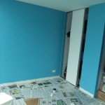 First coat done!