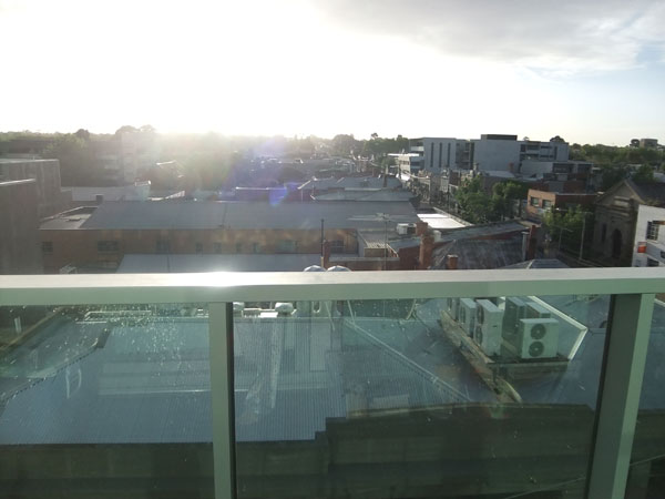 Morning view from the flat