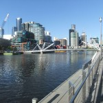 Far end of Southbank