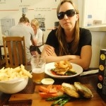 Food and beer at the Forrest Brewery